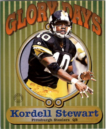 1997 Fleer Goudey II Glory Days #13 Kordell Stewart