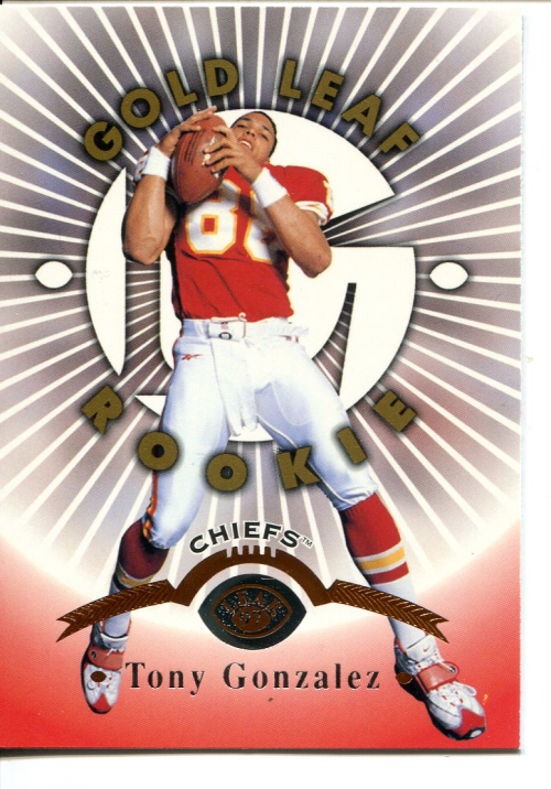 1997 Leaf #174 Tony Gonzalez RC