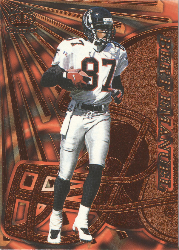 1997 Pacific Dynagon Copper #6 Bert Emanuel