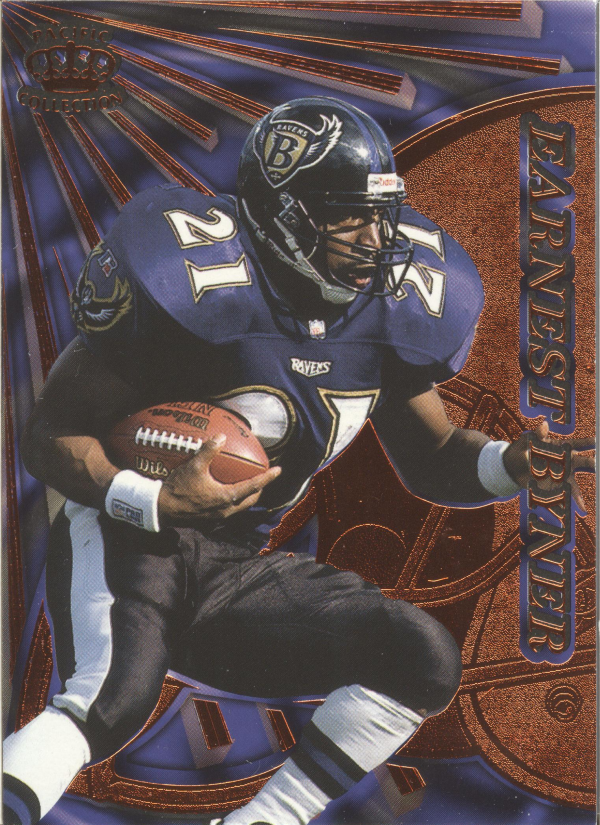 1997 Pacific Dynagon Copper #11 Earnest Byner