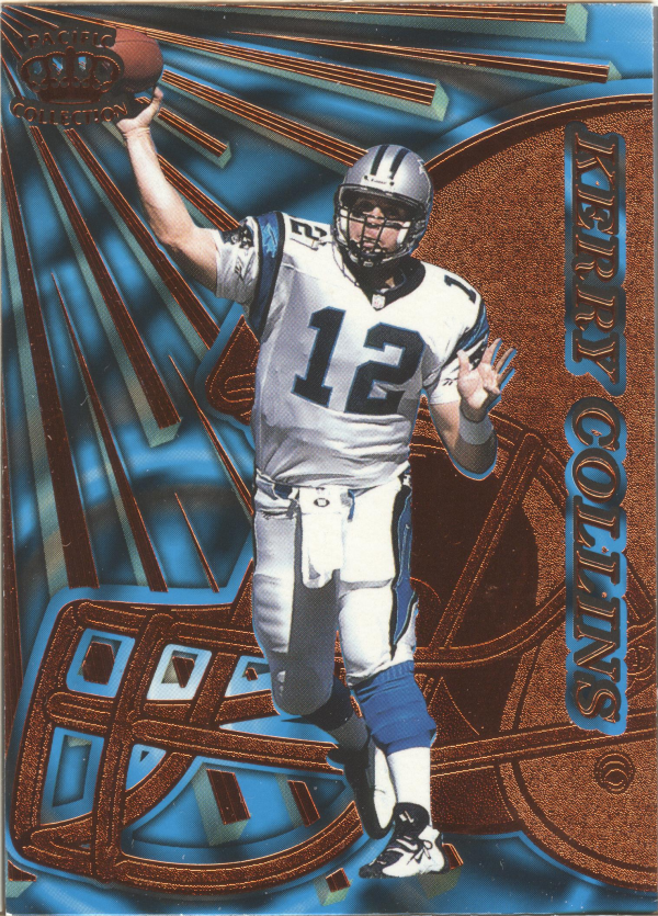 1997 Pacific Dynagon Copper #22 Kerry Collins
