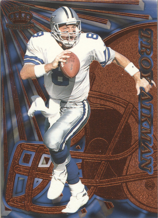 1997 Pacific Dynagon Copper #36 Troy Aikman