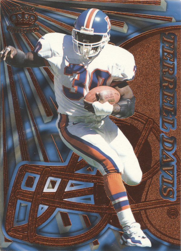 1997 Pacific Dynagon Copper #42 Terrell Davis