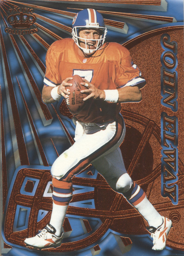 1997 Pacific Dynagon Copper #43 John Elway
