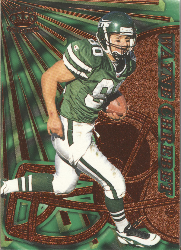 1997 Pacific Dynagon Copper #101 Wayne Chrebet