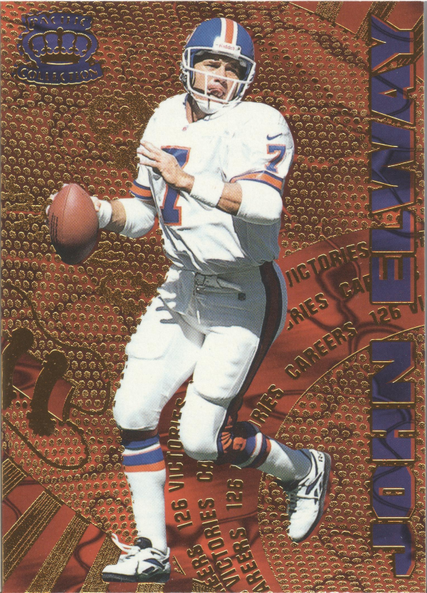 1997 Pacific Dynagon Careers #3 John Elway
