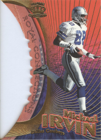 1997 Pacific Dynagon Royal Connections #5B Michael Irvin front image