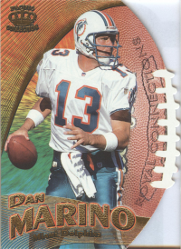 1997 Pacific Dynagon Royal Connections #9A Dan Marino front image