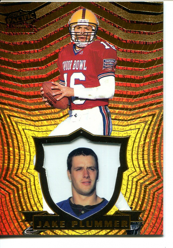 1997 Pacific Invincible Copper #5 Jake Plummer