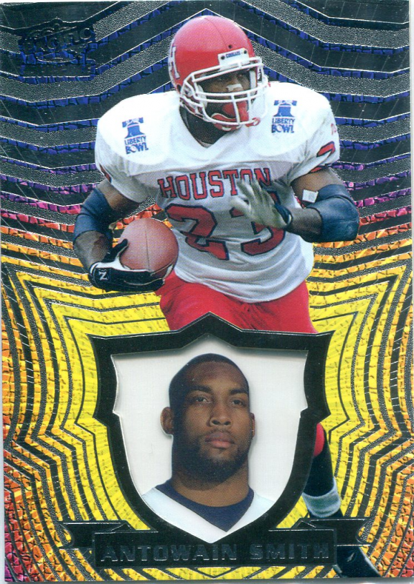 1997 Pacific Invincible Silver #18 Antowain Smith