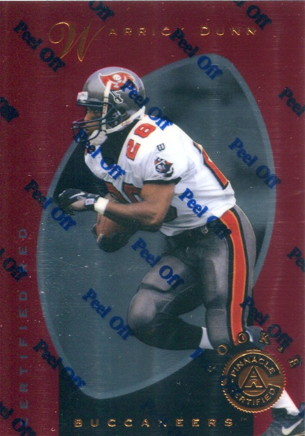 1997 Pinnacle Certified Red #144 Warrick Dunn