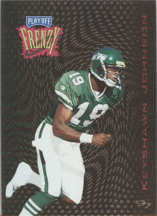 1997 Playoff Zone Frenzy #18 Keyshawn Johnson