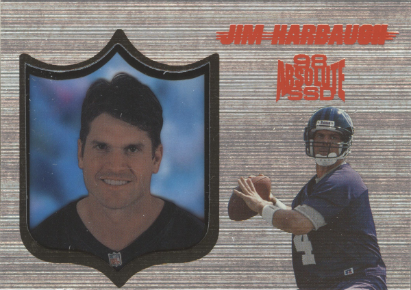 1998 Absolute Hobby Silver #147 Jim Harbaugh