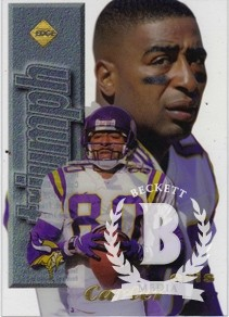 1998 Collector's Edge First Place Triumph #6 Cris Carter
