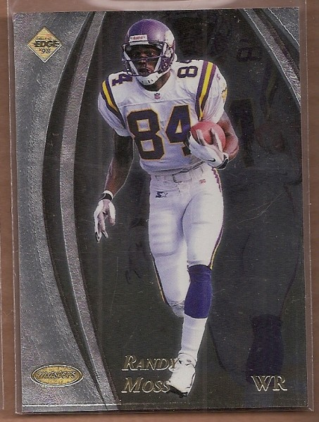 1998 Collector's Edge Masters 50-point #95 Randy Moss