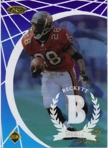 1998 Collector's Edge Masters Main Event #ME7 Warrick Dunn