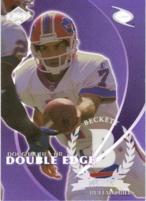 1998 Collector's Edge Odyssey Double Edge #11A D.Flutie F/G.Foley