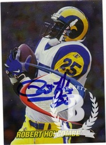 1998 Collector's Edge Odyssey Prodigies Autographs #17 Robert Holcombe