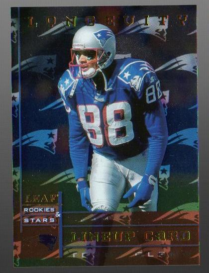 1998 Leaf Rookies and Stars Longevity #277 Terry Glenn TL