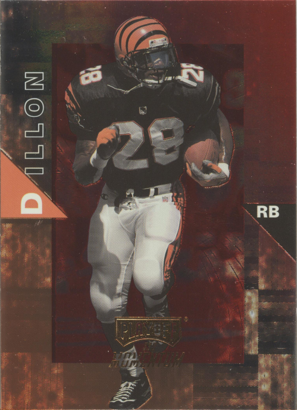1998 Playoff Momentum Hobby Red #55 Corey Dillon