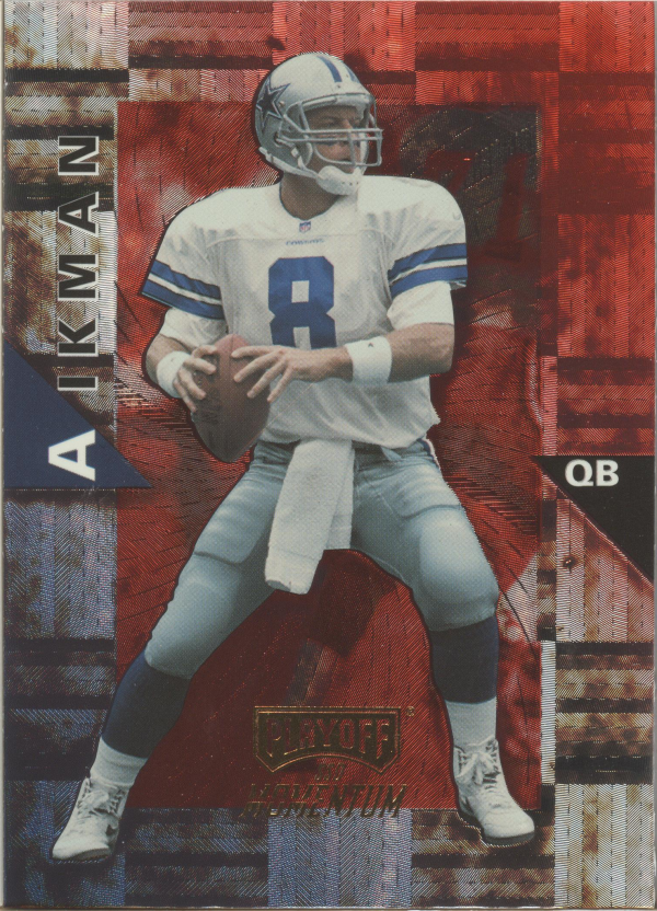 1998 Playoff Momentum Hobby Red #60 Troy Aikman