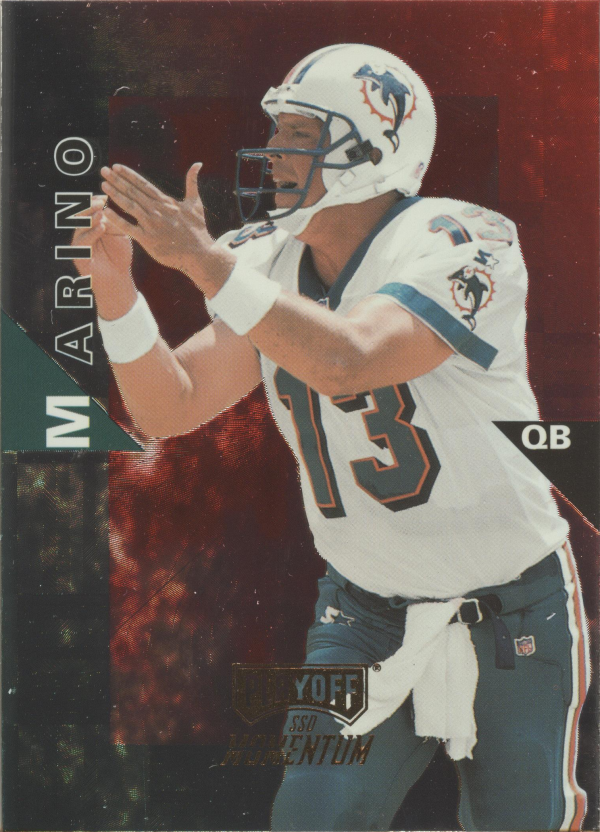 1998 Playoff Momentum Hobby Red #121 Dan Marino