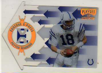 1998 Playoff Momentum Endzone X-press #11 Peyton Manning