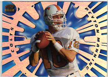 1998 Revolution Rookies and Stars #15 Peyton Manning