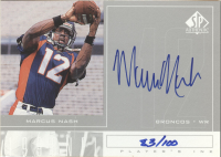 1998 SP Authentic Player's Ink Silver #MN Marcus Nash front image
