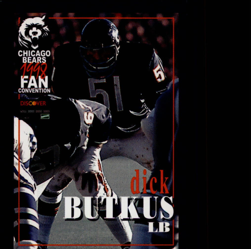 1998 Bears Fan Convention #7 Dick Butkus