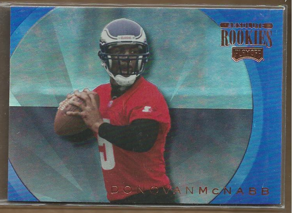 1999 Absolute SSD Rookies Inserts #AR27 Donovan McNabb