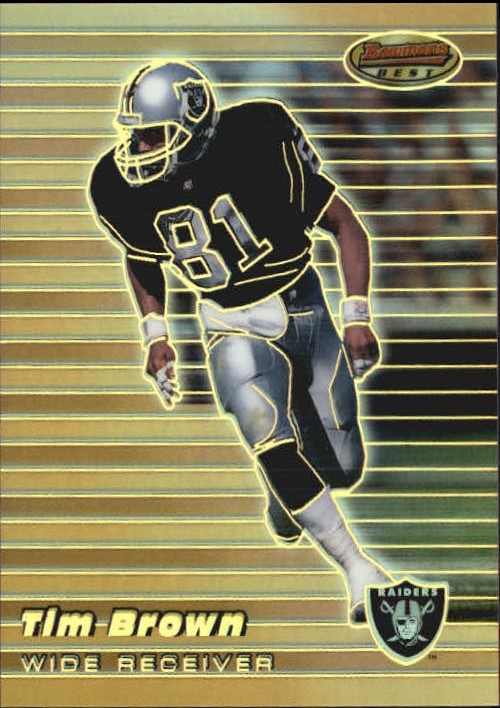 1999 Bowman's Best Refractors #5 Tim Brown