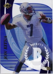 1999 Collector's Edge Masters Legends #ML19 Jon Kitna