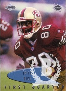 1999 Collector's Edge Odyssey #130 Jerry Rice