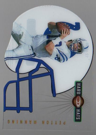 1999 Donruss Preferred QBC Hard Hats #12 Peyton Manning