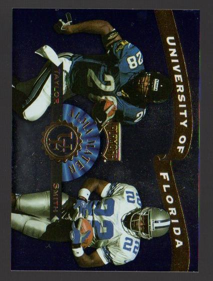 1999 Playoff Prestige SSD Alma Maters #AM6 F.Taylor/E.Smith