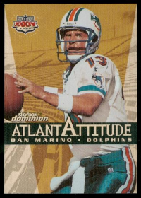 1999 SkyBox Dominion Atlantattitude Plus #8 Dan Marino front image