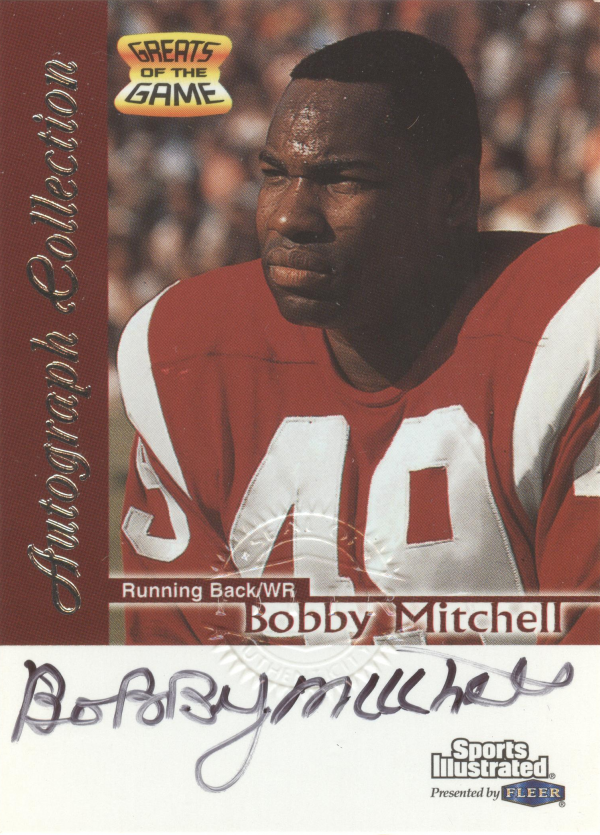 1999 Sports Illustrated Autographs #18 Bobby Mitchell