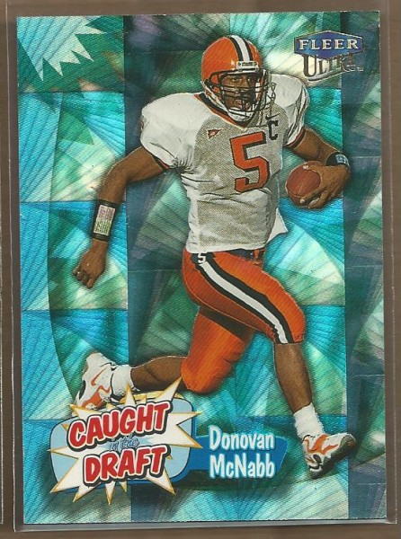 1999 Ultra Caught In The Draft #6 Donovan McNabb