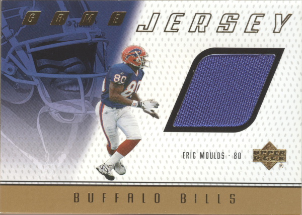 1999 Upper Deck Game Jersey #EM Eric Moulds H
