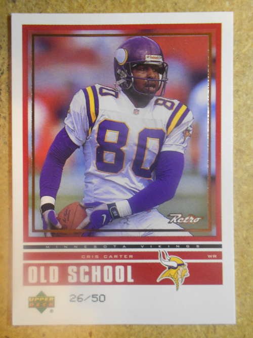 1999 Upper Deck Retro Old School/New School Level 2 #ON3 C.Carter/R.Moss