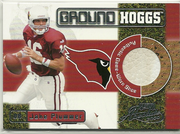 2000 Absolute Ground Hoggs Shoe #GH1 Jake Plummer/110*