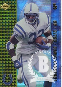 2000 Collector's Edge T3 #58 Edgerrin James