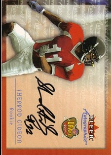 2000 Fleer Tradition Autographics #59 Sherrod Gideon