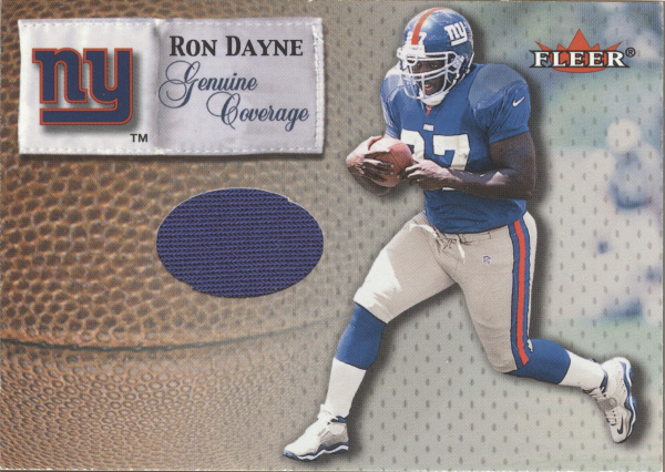 2000 Fleer Tradition Genuine Coverage #14 Ron Dayne