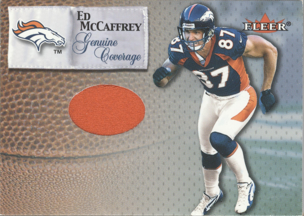 2000 Fleer Tradition Genuine Coverage #24 Ed McCaffrey