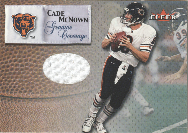 2000 Fleer Tradition Genuine Coverage #25 Cade McNown