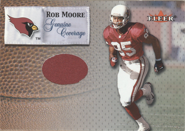 2000 Fleer Tradition Genuine Coverage #27 Rob Moore