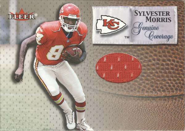 2000 Fleer Tradition Genuine Coverage #28 Sylvester Morris