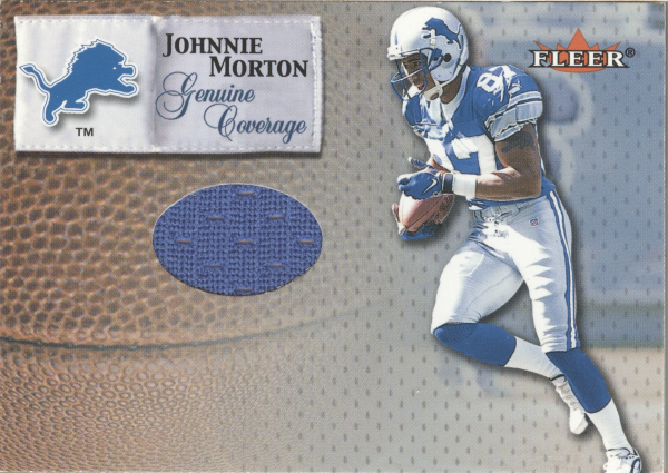 2000 Fleer Tradition Genuine Coverage #29 Johnnie Morton
